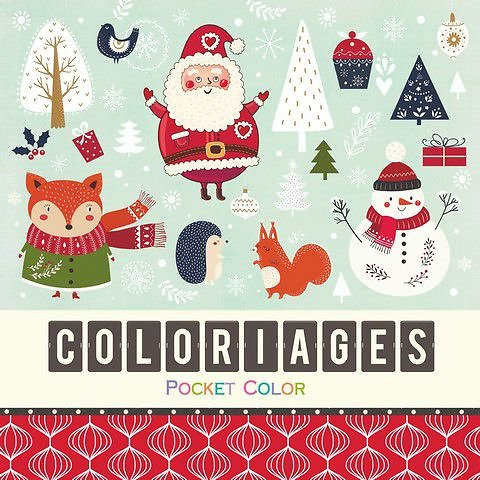 Coloriages Père Noel