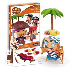 Paper Toys Pirates - + 6 ans