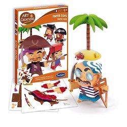 Paper Toys Pirates - + 6 ans