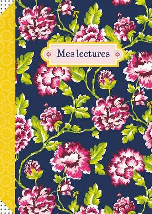 Carnet Mes lectures fromat 15x21cm