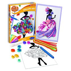Quilling art Robes de rêves - + 8 ans