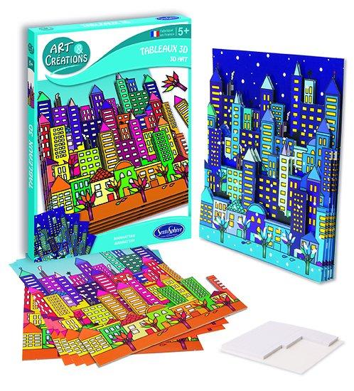 Tableau 3D Manhattan - + 5 ans