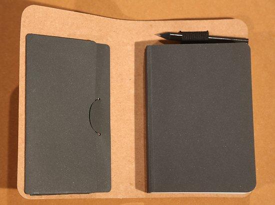 Coffret carnet bloc et crayon à papier