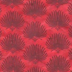 Papier LOKTA  palme pourpre fuchsia 50x75cm ou 50x37.5cm