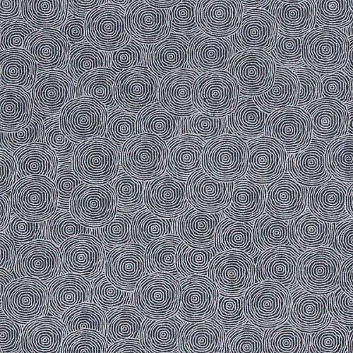 Feuille Lokta petites spirales bleues Rondanlo 50x75cm ou 50x37.5cm