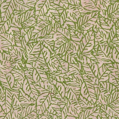 Papier LOKTA vert Feuillages 50x75cm ou 50x37.5cm