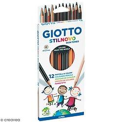 Boite de crayons Skintones Couleur de peau