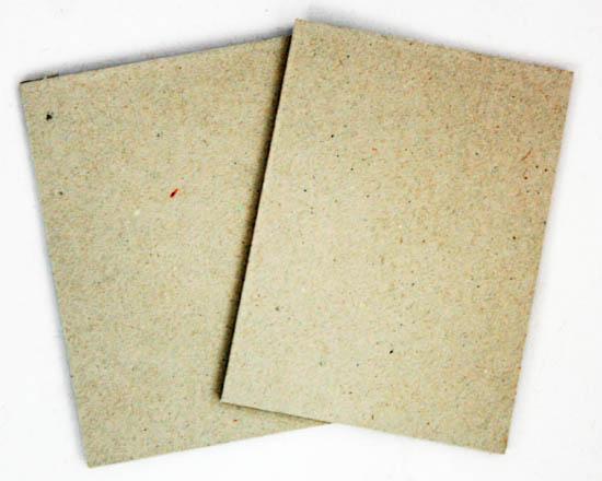 Carton gris format A4 et A3 en 1.4 mm