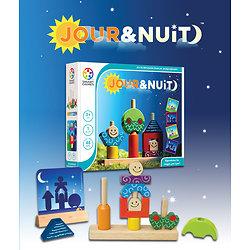 Jour & Nuit - SMART GAMES - + 2 ans