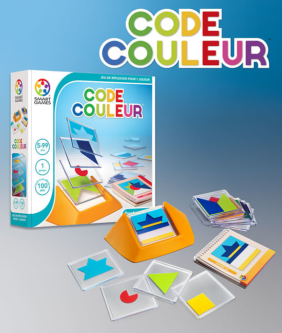 Code Couleur - SMART GAMES - + 5 ans