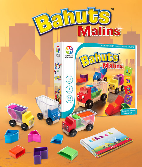 Bahuts Malins - SMART GAMES - + 3 ans
