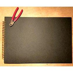 GRAND ALBUM 34X50cm - 40 pages 325gr  (20 feuilles)
