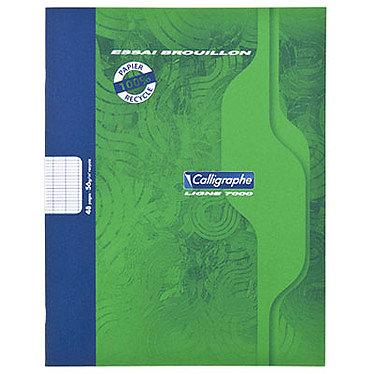Cahiers 17x22cm recyclés carreaux seyes 96 pages