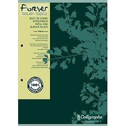 Bloc A4 recyclé à petits carreaux  200 pages