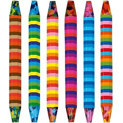 Crayons gras à la cire assortiment de 6