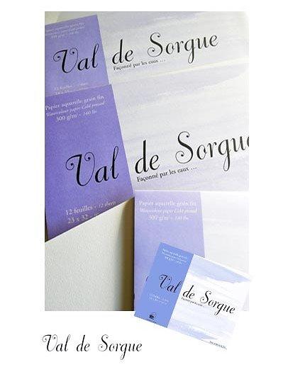 Papier Aquarelle grain fin 300gr 2 formats