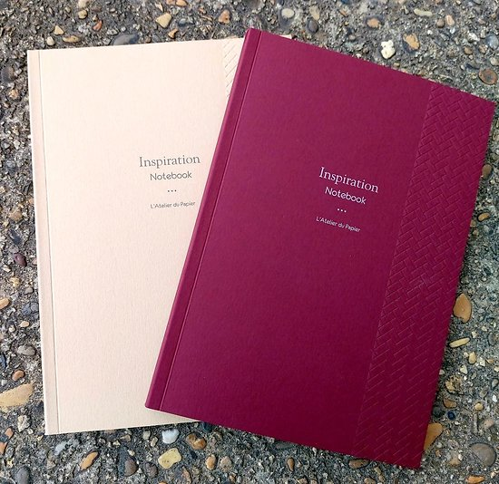 Carnet Inspiration Notebook 15x21cm - 78 p lignées