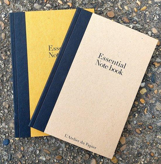 Essential Notebook 14.3x21cm Beige ou Safran