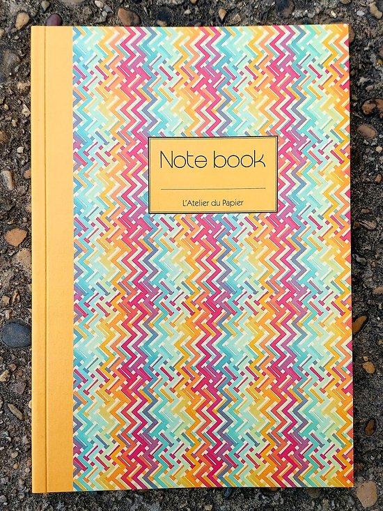 Carnet Notebook Frise A5 lignées