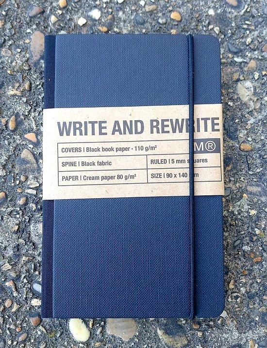 Carnet de poche à petits carreaux 9x14cm