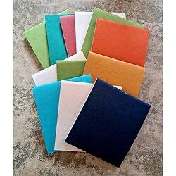 Lot de 12 carnets 12.9x15cm