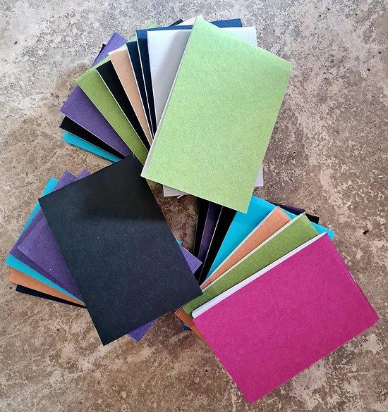 Lot de 24 carnets  9x13.5cm