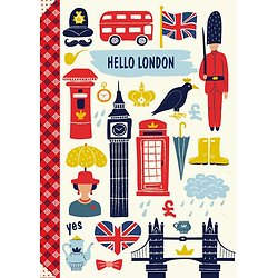 Carnet Hello London