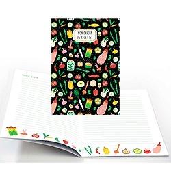 Carnet cuisine agrafé A5 Mon cahier de recettes