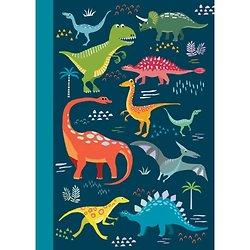 Carnet Les Dinosaures A5