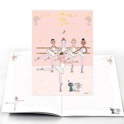 Carnet Notes Danseuses A5