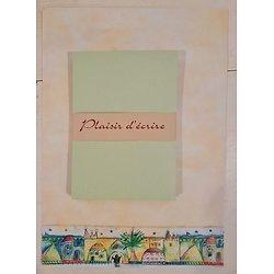 Papier à lettre Orient avec enveloppes en papier recyclé