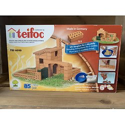 Kit de construction en brique  thème bergerie - + 6 ans