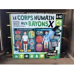 Le corps humain aux rayons X    -  6/10 ans - Headu