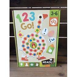 123 Go -3/6 ans- Headu