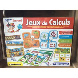 Jeux de calculs - 3/5 ans -Clémentoni