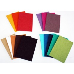 Papier cartonné recyclé multicolore 650 gr