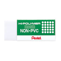Gomme douce sans PVC Pentel