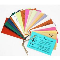 Nuancier complet  petit format ou A4 des papiers MAKI