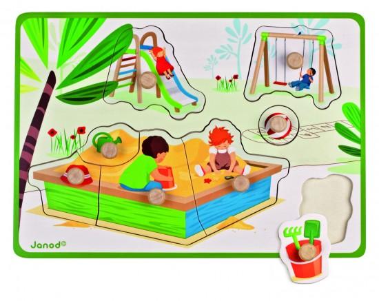 Puzzle Jardin d'enfant
