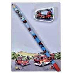 Kit Enfant Pompier en papier recyclé