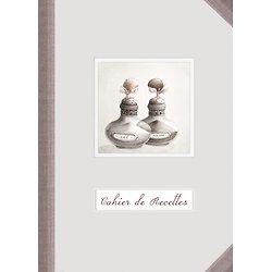 Carnet de Recettes poivrière et salière anges A5