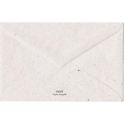 """Enveloppe carte de visite 14x9cm """"Kraft"""""""