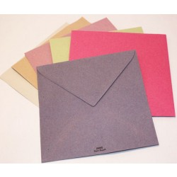 """Enveloppe carrée 15x15cm """"Couleurs de Provence"""""""