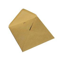 Enveloppe carrée 15x15cm kraft