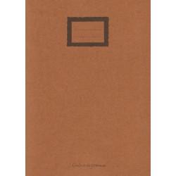 Cahier en papier recyclé Maki A4