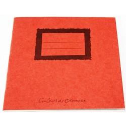 Cahier en papier recyclé Maki 20x20cm