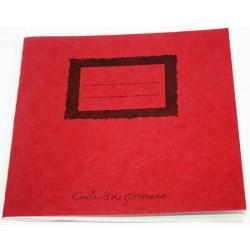 Cahier en papier recyclé 14x14cm maki