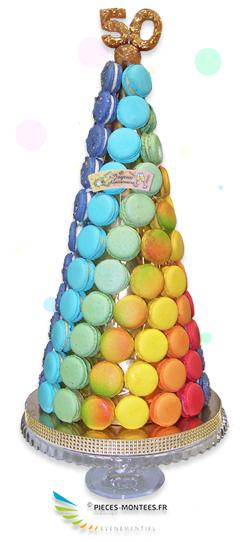Cônes de Macarons