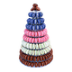 Cône de 220 véritables macarons artisanaux