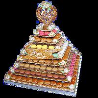 Pyramide de Choux & Macarons